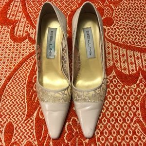 Women's Bellini Floral Mesh Heels (Sz 8.5)